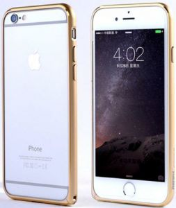 Бампер для iPhone 6/6S (4.7'') Remax Halo Golden