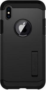 Чехол для iPhone X Spigen Case Tough Armor Matte Black (057CS22160)