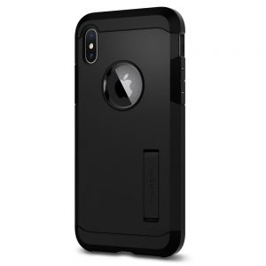 Чехол для iPhone XS/X Spigen Case Tough Armor Matte Black (057CS22160)