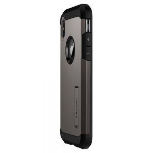 Чехол для iPhone XS/X Spigen Case Tough Armor Gunmetal (057CS22161)