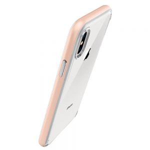 Чехол для iPhone X Spigen Case Neo Hybrid Crystal Blush Gold (057CS22173)