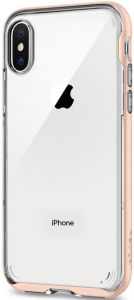 Чехол для iPhone X Spigen Case Neo Hybrid Crystal Blush Gold (057CS22173)