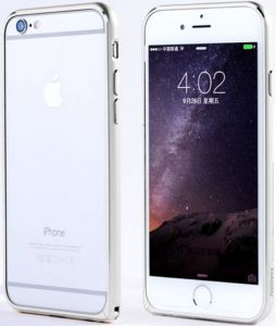 Бампер для iPhone 6/6S (4.7'') Remax Halo Silver