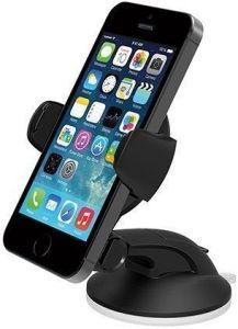 Автодержатель для iPhone 8/7/6, телефонов до 5'' iOttie Easy Flex 3 Car Mount Holder Desk Stand Black (HLCRIO108)