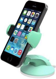 Автодержатель для iPhone 8/7/6, телефонов до 5'' iOttie Easy Flex 3 Car Mount Holder Desk Stand Mint (HLCRIO108MI)