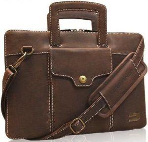 Кожаная сумка / чехол-книжка для MacBook 12'' URBANO Compact Attache Leather - Vintage (UZRB12-07)