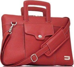 Кожаная сумка / чехол-книжка для MacBook 12'' URBANO Compact Attache Leather - Red (UZRB12-04)