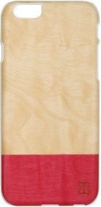 Деревянный чехол для iPhone 6/6S 4.7'' Mannwood Case Wood Miss Match/White (M1484W)