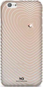 Чехол для iPhone 6/6S 4.7'' White Diamonds Heartbeat Rose Gold (1310HBT56)