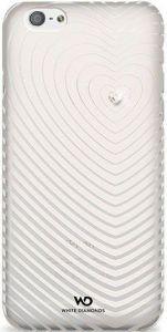 Чехол для iPhone 6/6S 4.7'' White Diamonds Heartbeat White (1310HBT47)