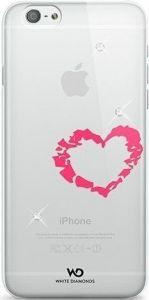 Чехол для iPhone 6/6S 4.7'' White Diamonds Lipstick Heart (1310LIP61)