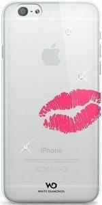 Чехол для iPhone 6/6S 4.7'' White Diamonds Lipstick Kiss (1310LIP60)