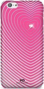 Чехол для iPhone 6/6S 4.7'' White Diamonds Heartbeat Pink (1310HBT41)