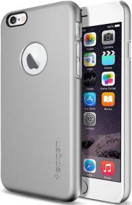 Чехол для iPhone 6/6S 4.7'' Spigen Case Thin Fit A Series Satin Silver (SGP10942)