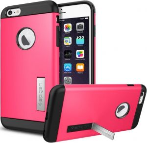 Чехол для iPhone 6 Plus / 6S Plus 5.5'' Spigen Case Slim Armor Series Azalea Pink (SGP10908)