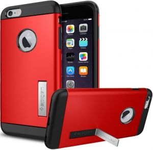 Чехол для iPhone 6 Plus / 6S Plus 5.5'' Spigen Case Slim Armor Series Electric Red (SGP10902)