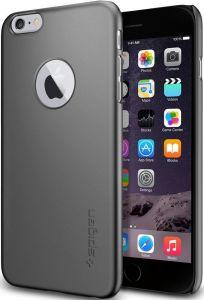 Чехол для iPhone 6 Plus / 6S Plus 5.5'' Spigen Case Thin Fit A Series Gun Metal (SGP10890)