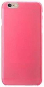 Чехол для iPhone 6/6S (4.7'') Kuboq Ultra Thin TPU Case Clear Shadow - Transparent Pink (+ пленка) (KQAPIP6FCSWPKTPU)