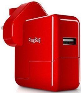 Сетевое З/У Twelvesouth PlugBug World White/Red (2.1 A) (TWS-12-1211)