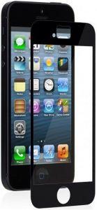 Защитная пленка Moshi iVisor XT Screen Protector Black/Glossy для iPhone SE и iPhone 5/5S/5C (99MO020923)