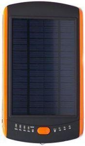 Внешний аккумулятор 23000mAh (с подзарядкой от солнца) PowerPlant Black/Orange (MP-S23000)