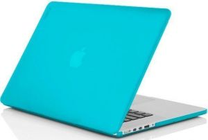 Уцененный товар! Чехол для MacBook Pro 15'' Retina (2012-2015) Incipio feather - Translucent Neon Blue (IM-294-BLU)