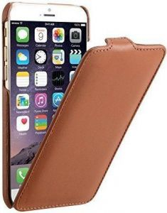 Кожаный чехол Decoded Leather Flip Case для iPhone 6/6S (4.7'') Brown (D4IPO6FC1BN)