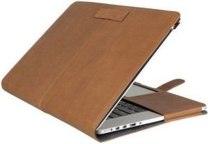 Кожаный чехол Decoded Leather Slim Cover для MacBook Pro 15'' Retina (2012-2015) Light Brown (D4MPR15SC1BN)