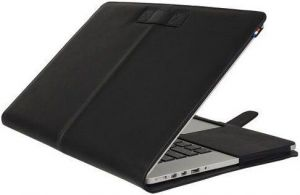 Кожаный чехол Decoded Leather Slim Cover для MacBook Pro 13'' Retina (2012-2015) Black (D4MPR13SC1BK)