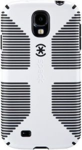 Чехол для Samsung Galaxy S4 (I9500) / S4 Black Edition Speck CandyShell Grip (White/Black) (SP-SPK-A2060)