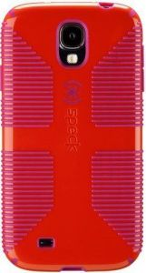 Чехол для Samsung Galaxy S4 (I9500) / S4 Black Edition Speck CandyShell Grip (Poppy Red/Fuchsia Pink) (SP-SPK-A2061)