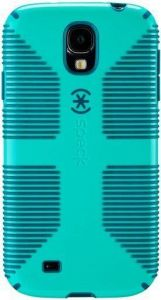 Чехол для Samsung Galaxy S4 (I9500) / S4 Black Edition Speck CandyShell Grip (Caribbean Blue/Deep Sea Blue) (SP-SPK-A2062)