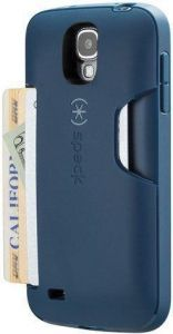 Чехол для Samsung Galaxy S4 (I9500) / S4 Black Edition Speck SmartFlex Card (Deep Sea Blue) (SP-SPK-A2072)