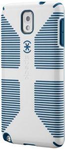 Чехол для Samsung Galaxy Note 3 (N9000) Speck CandyShell Grip White/Deep Sea Blue (SP-SPK-A2436)