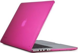 Уцененный товар! Чехол для MacBook Pro 15'' Retina (2012-2015) Speck SeeThru Hot Lips Pink (SP-SPK-A2731)
