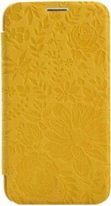 Чехол для Samsung Galaxy S5 (G900) Devia Queen Yellow