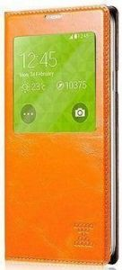 Чехол для Samsung Galaxy S5 (G900) Xoomz Original Oil Wax Leather Orange (side-open) (XSI96006)