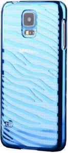 Чехол для Samsung Galaxy S5 (G900) Vouni Glimmer Zebra Blue