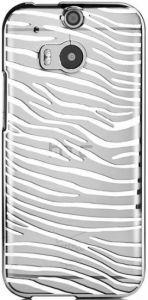 Чехол для HTC One 2 M8 Vouni Glimmer Zebra Silver