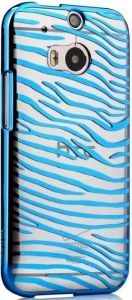 Чехол для HTC One 2 M8 Vouni Glimmer Zebra Blue