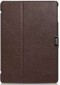 Кожаный чехол для iPad Air iCarer Microfiber Brown (RID503)