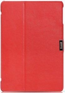 Кожаный чехол для iPad Air / iPad 9.7'' (2017/18) iCarer Microfiber Red (RID503)