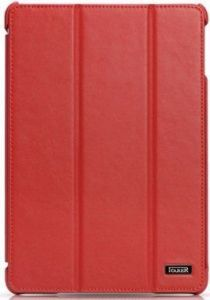 Кожаный чехол для iPad Air iCarer Ultra-thin Genuine Red (RID501)