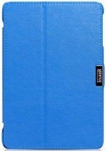 Кожаный чехол для iPad Mini / Mini 2 / Mini 3 iCarer Microfiber Blue (RID795)