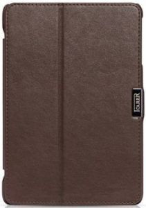 Кожаный чехол для iPad Mini / Mini 2 / Mini 3 iCarer Microfiber Brown (RID795)