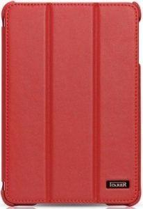 Кожаный чехол для iPad Mini / Mini 2 / Mini 3 iCarer Ultra-thin Genuine Red (RID794)