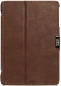 Кожаный чехол для iPad Mini / Mini 2 / Mini 3 iCarer Vintage Brown (RID796)