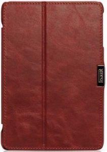 Кожаный чехол для iPad Mini / Mini 2 / Mini 3 iCarer Vintage Red (RID796)