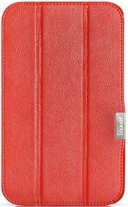 Кожаный чехол для Samsung Galaxy Tab 3 8.0 (P8200, T310, T3100, T3110) iCarer Red (RS820001)