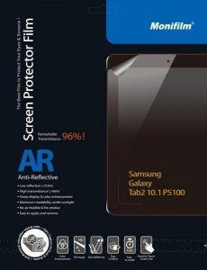 Защитная пленка Monifilm для Samsung Galaxy Tab 2 10.1 (P5100), AR (M-SAM-T004)
